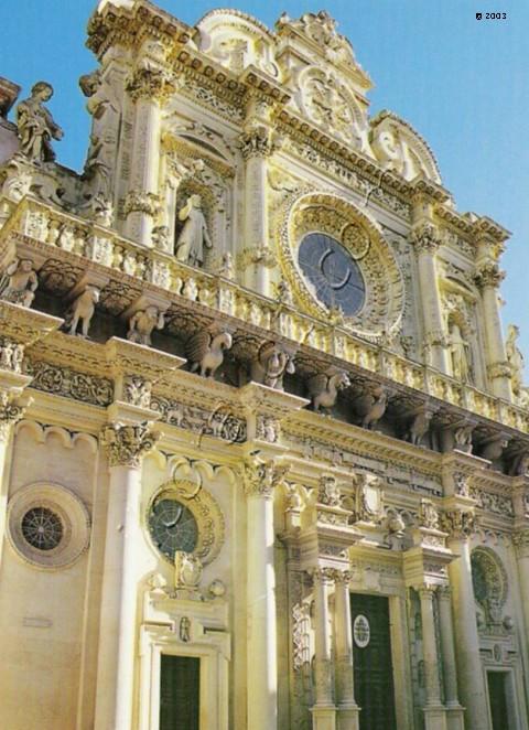 Basilica Santa Croce Lecce